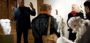 Kazio Bimbos skulptūrų, Vilmanto Dambrausko fotografijų, Lolitos Brazos ekslibrių parodos